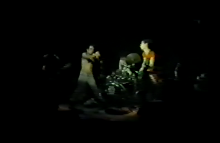 Screen grab from DVD - Dead Milkmen 1986-03-02 Indianapolis