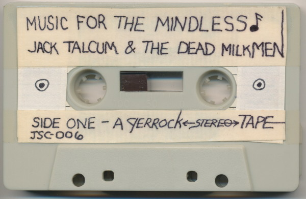 Music for the Mindless - cassette tape - side one